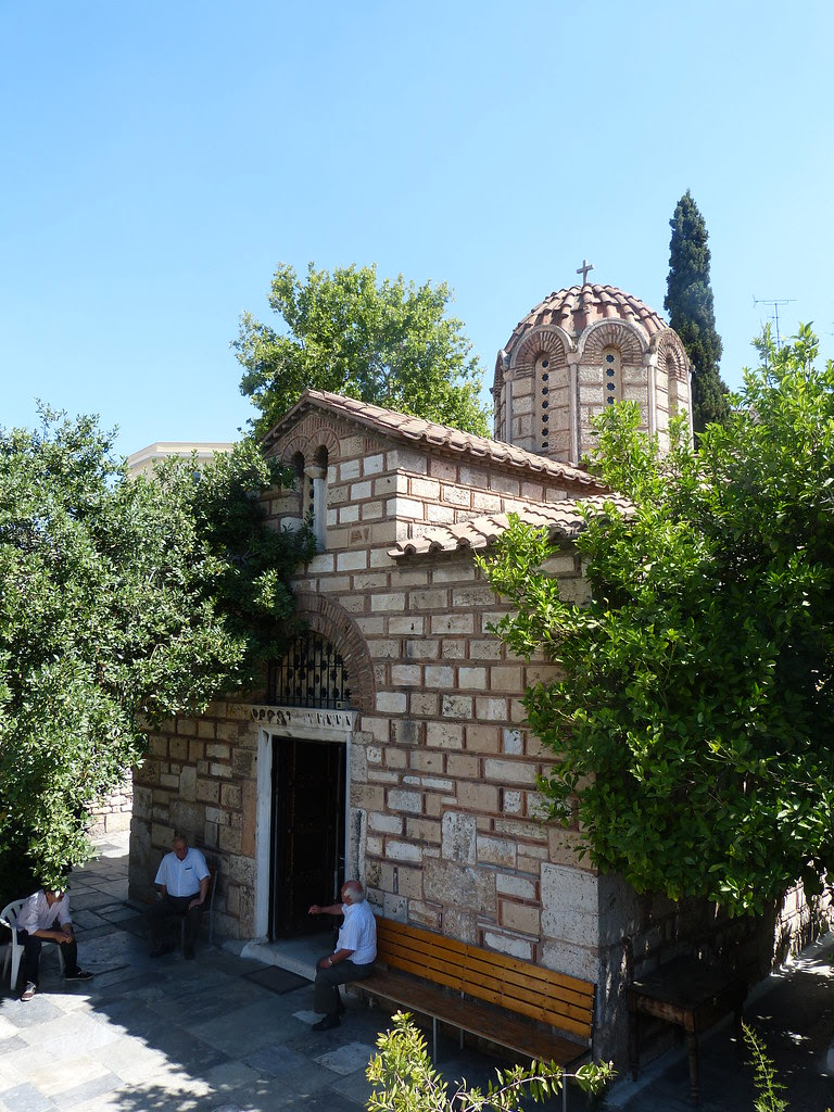 Church of Agios Asomati, Athens