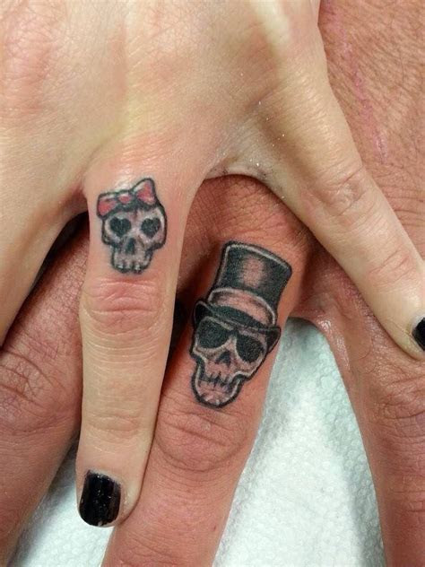 Best 25  Wedding band tattoo ideas on Pinterest   Wedding