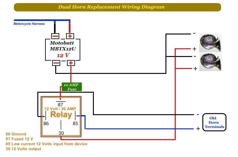 Wiring Diagram Of Car Horn Wiring Diagram For 2 Way Light Switch Bege Wiring Diagram
