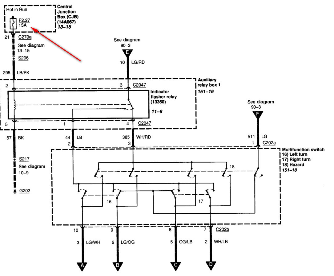 Nissan Micra 2002 Fuse Box Diagram