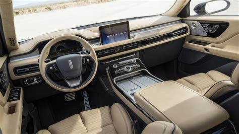 lincoln aviator interior youtube