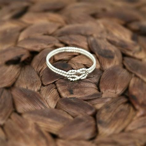 25  best ideas about Love Knot Ring on Pinterest   Knot