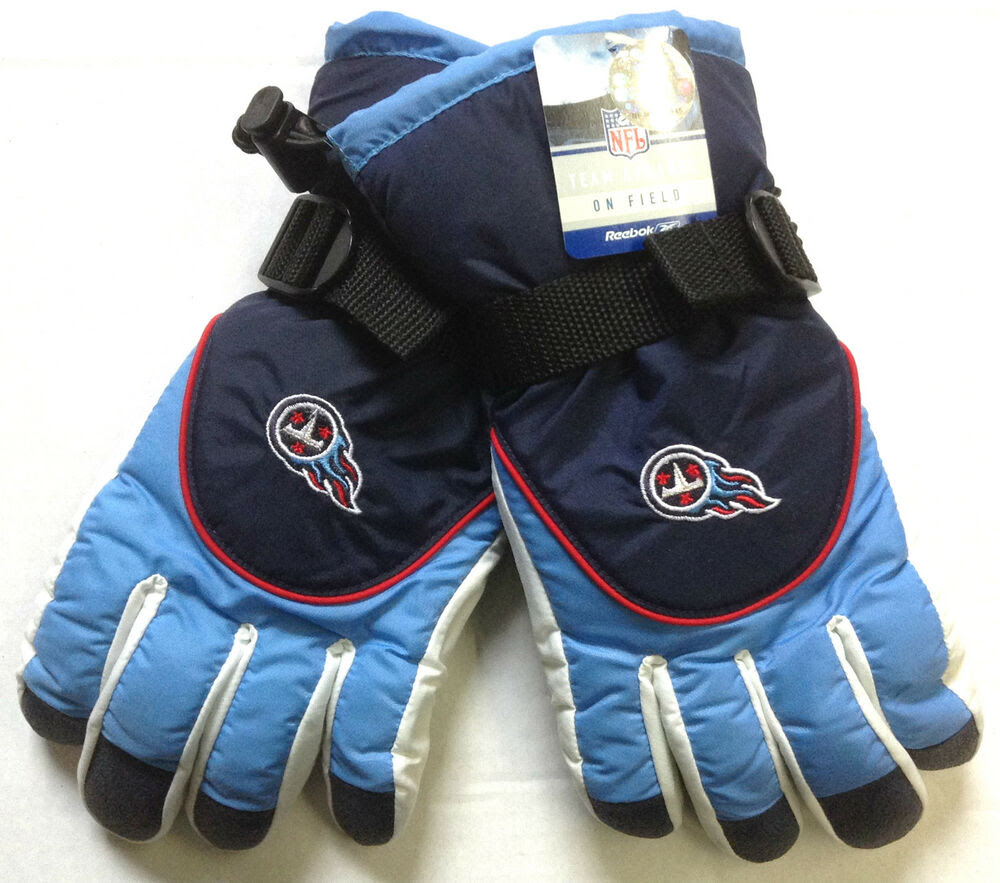 NFL Tennessee Titans Reebok Team Apparel Mens Winter Ski Gloves NEW!  eBay