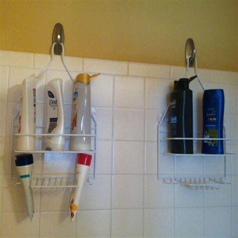 command strips showers  hooks  pinterest