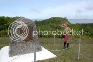 Medal of Honor memorial, Peleliu,Alice