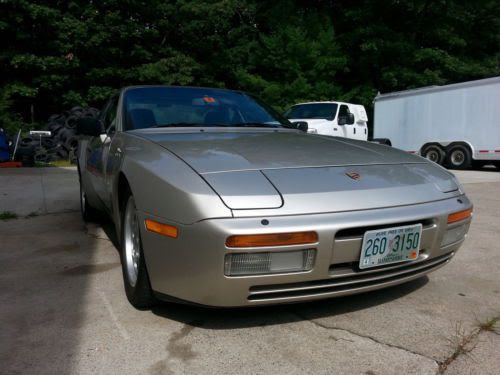 Sell Used 1986 Porsche 944 Turbo In Stow Massachusetts