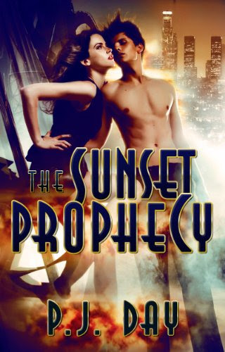 The Sunset Prophecy (Love at the End of the World: Book 1) by P.J. Day