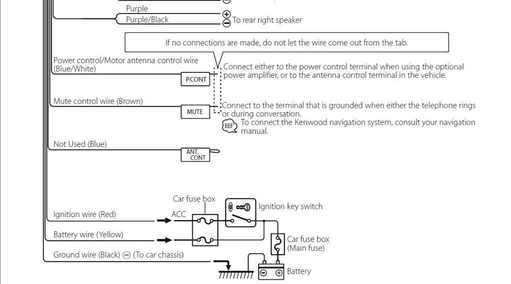 33 Kenwood Kdc 258u Wiring Diagram