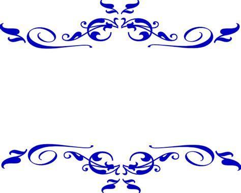Swirl Blue Wedding Clip Art at Clker.com   vector clip art
