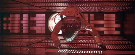 Dave Bowman lucha contra HAL 9000 en '2001: una odisea espacial'