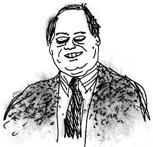 Rush Limbaugh as drawn by Rex Lameray in July ...