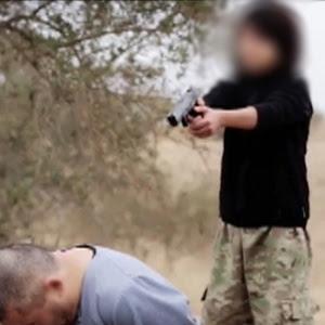 A imagem do vídeo foi publicada no Twitter de Rita Katz, diretora do ''Site'', grupo de inteligência especializado em terrorismo