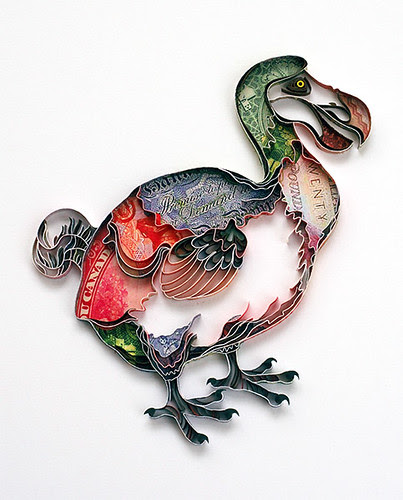 quilled dodo