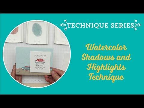 Watercolour Shadows & Highlights Tutorial