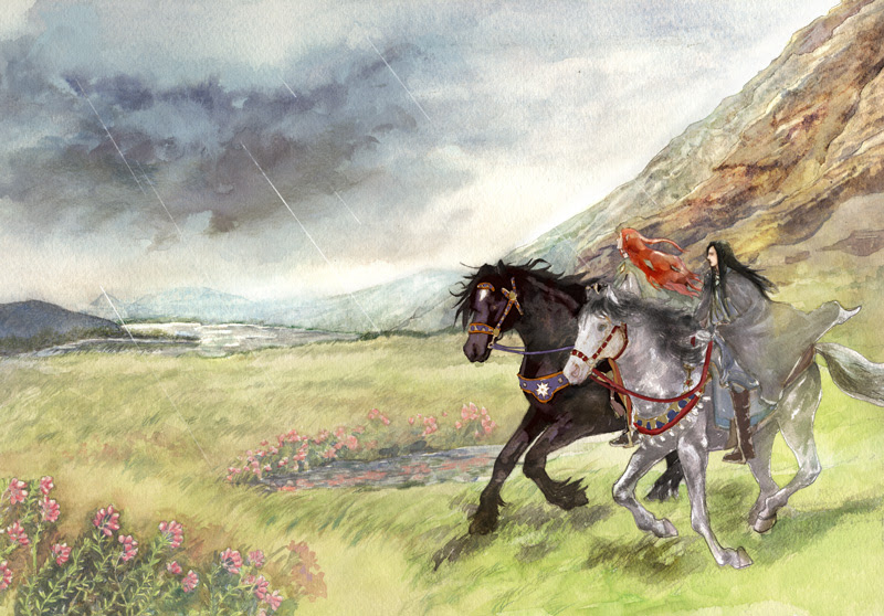 http://dalomacchi.deviantart.com/art/Brothers-in-Beleriand-289711180