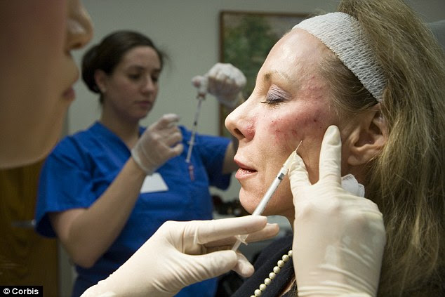 In November last year, experts reported that a female patient went permanently blind in her left eye after having filler injected because it blocked an artery feeding the eye