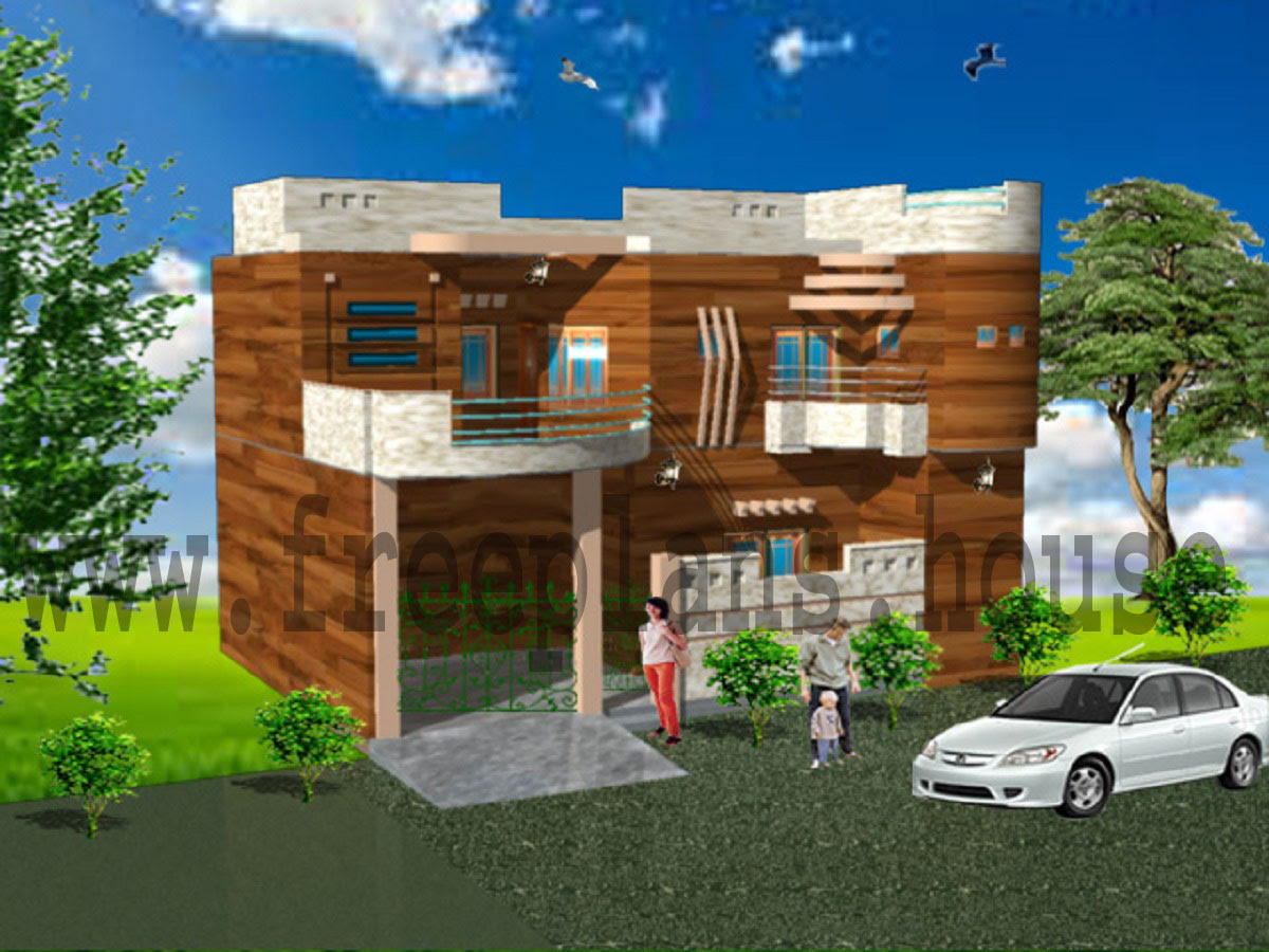 Home design elevation ground floor