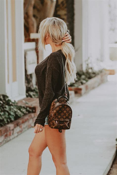 Louis Vuitton Palm Springs Backpack Mini   BLONDIE IN THE CITY
