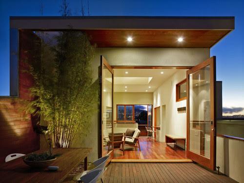Schwartz and Architecture modern patio