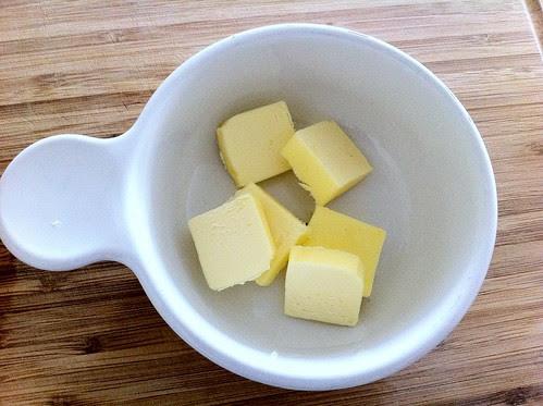 Unsalted Butter, Sliced