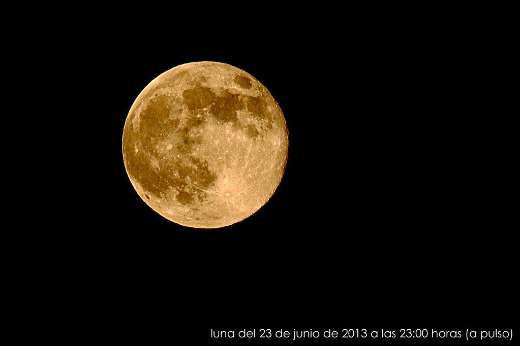 Luna llena para la noche de San Juan