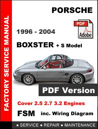 Find Porsche Boxster 986 1996 1997 1998 1999 2000 2001 2002 2003 2004 Workshop Manual Motorcycle In New York New York United States For Us 14 95