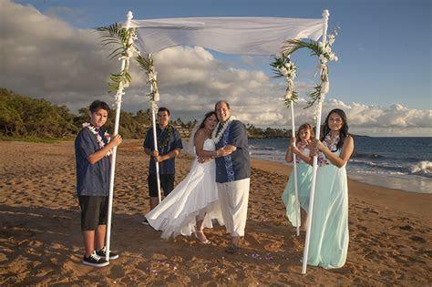 Jewish Maui Ceremony   Hawaii Wedding   Maui Wedding & Vow