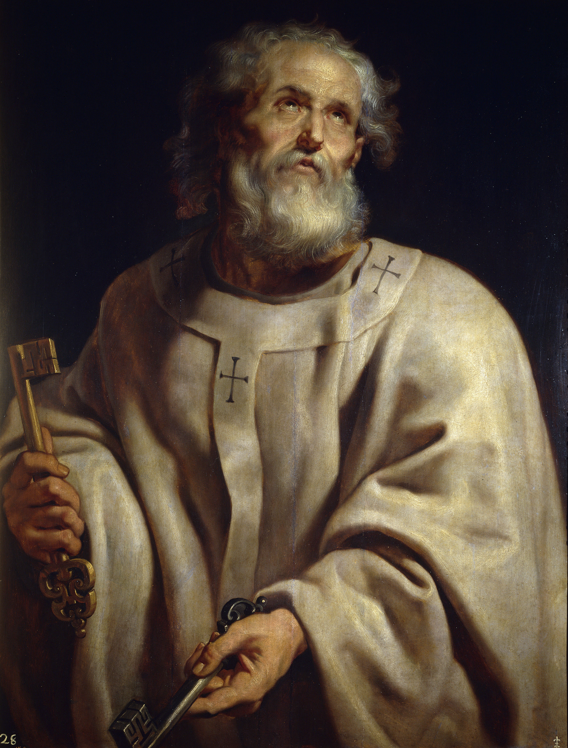 http://upload.wikimedia.org/wikipedia/commons/2/2d/Pope-peter_pprubens.jpg