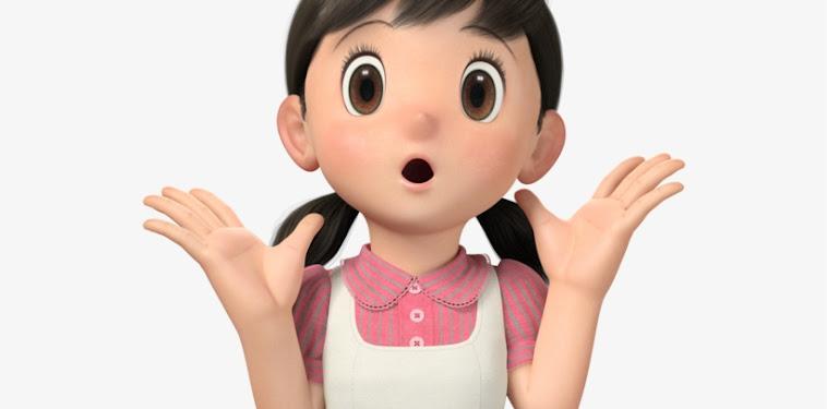 Doraemon Shizuka 3d Png