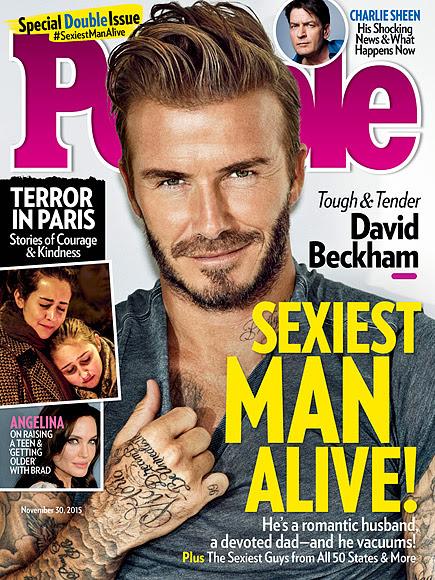 David Beckham Is PEOPLE's Sexiest Man Alive!| Sexiest Man Alive, Sexiest Man Alive, Sexiest Man Alive Ad Tag, David Beckham