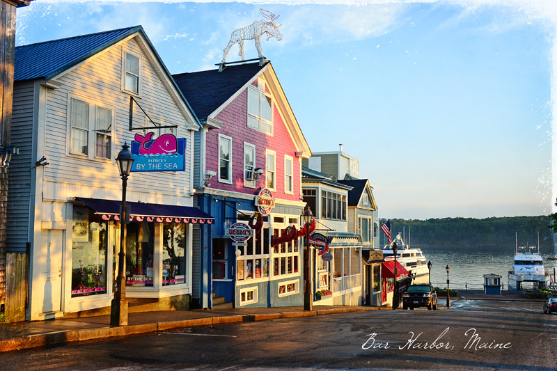 Early morning in Bar Harbor