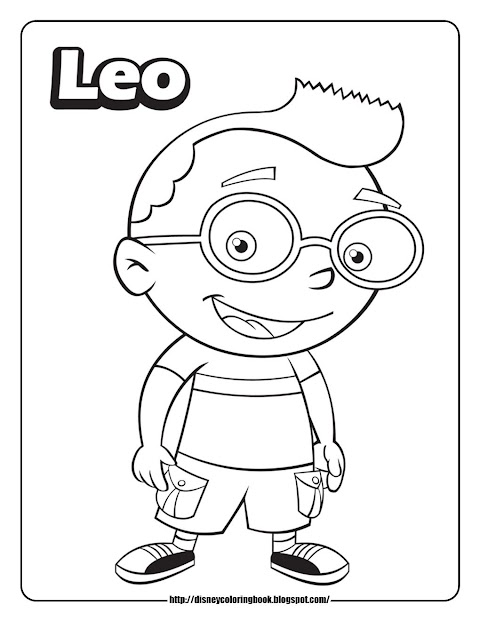 Get Inspired For Little Einsteins Coloring Pages