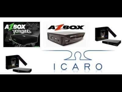AZBOX THUNDER/BRAVISSIMO PLUS EM ICARO XF5001 NOVA ATUALIZAÇÃO MODIFICADA - 04/02/2018