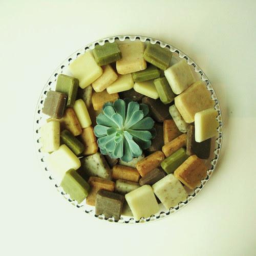 4-Vegan-Organic Bar Soap by prunellasoap