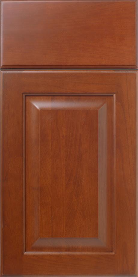 Cherry Raised Panel Cabinet Door Glen Haven S624