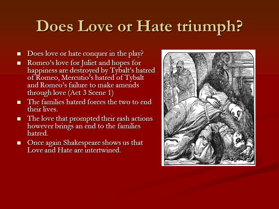 Love Hate In Shakespeare S Macbeth
