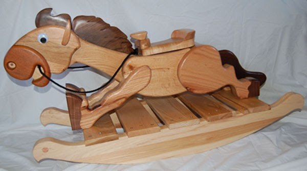 Pergola and other: Free plywood rocking horse plans