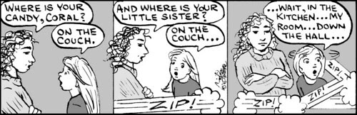 Home Spun comic strip #549