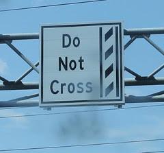 Do Not Cross the Film Strip