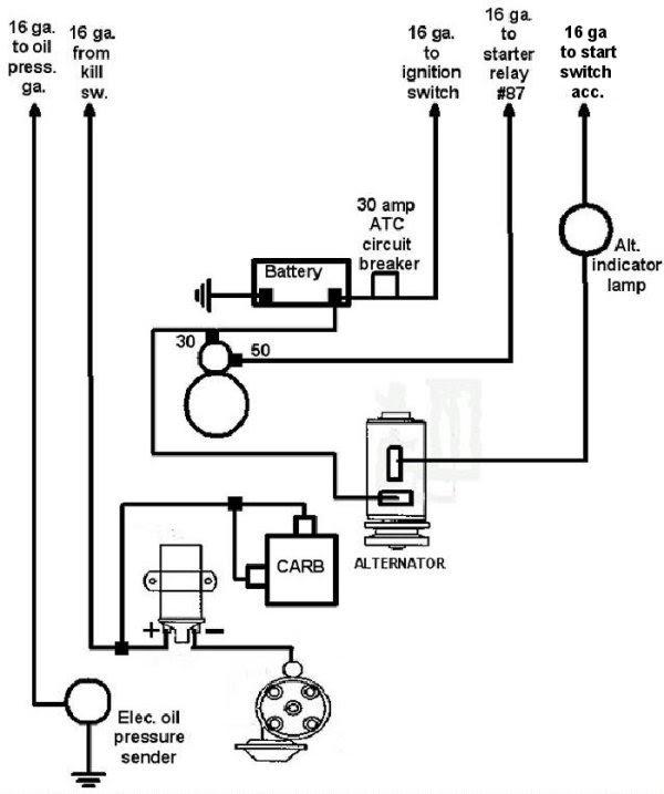 Motorola Alternator Regulator Wiring Diagram