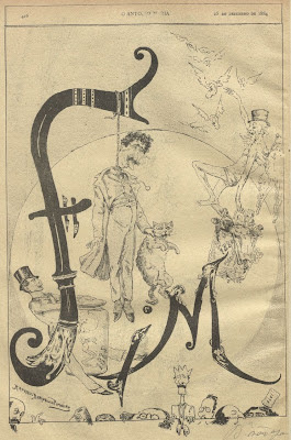 O António Maria - 19th cent. satirical magazine