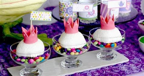 Purple Princess Tea Party   Pretty My Party   Party Ideas