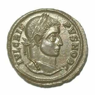 Flavius Julius Crispus, first-born son of Constantine I the Great.