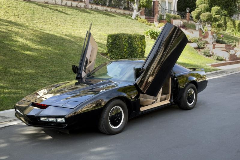David Hasselhoff's Personal Knight Rider KITT Pontiac ...