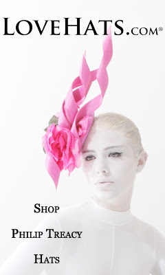 PHILIP TREACY HATS at LOVEHATS.COM