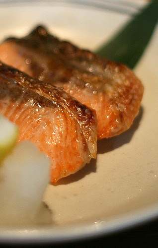 Shake Shioyaki - Grilled Salmon with Salt
