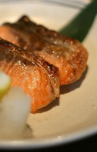Shake Shioyaki - Grilled Salmon with Salt