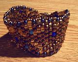 broken vulture art beadwork