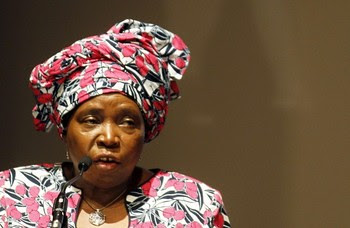 Dr. Nkosazana Dlamini Zuma, chairperson of the African Union Commission (AUC), attends the sixth joint AU/ECA Conference of African Ministers of Finance and Economic Development in Abidjan March 25, 2013. by Pan-African News Wire File Photos