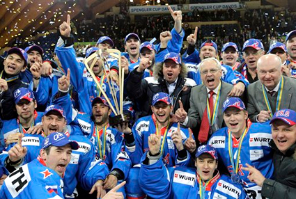 SKA Spengler Cup 2010, SKA Spengler Cup 2010